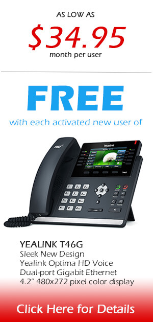 Free Yealink with activation