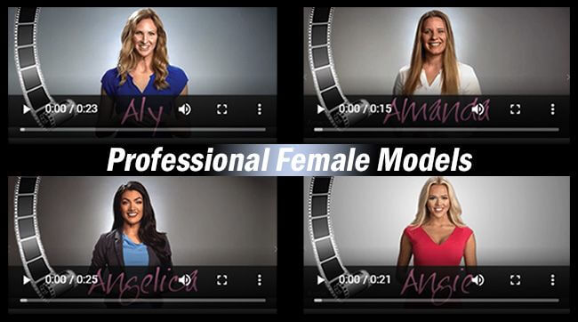 Professional Female Models